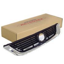 Grade Do Radiador Preta Com Moldura Cromada Retrovex Vectra 1997 A 2000 Rx12017 -