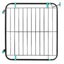 Grade Portão Proteção Segurança Cão 73 Á 115cm Escada Pet Preto - Pet Util