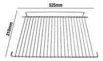 Grade Prateleira Geladeira Dako Continental Redk37 Redk38 Remb360 Rcct360 Rcct370 C37 C38 (52,5x31cm) - Continental / Dako
