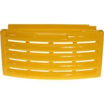 Grade Veneziana Amarelo 32x67cm Expositor Vertical Metalfrio - Loja Do Refrigerista