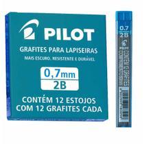 Grafite 0.7mm  2b estojo com 12 minas / 12tb / pilot -