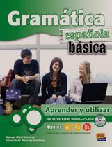 Gramatica espanola basica - aprender y utilizar a1-a2-b1-b2 - Edinumen -