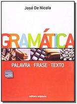 Gramatica: palavra, frase, texto - Scipione -