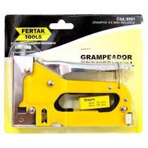 Grampeador Tapeceiro Fertak Profissional Metal 8501 -