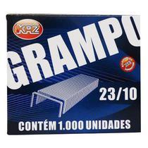 Grampo 23/10 Com 1000un Galvanizado Kaz -