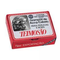 Grampo Cabelo de aço Teimoso nº7 Preto 100un -