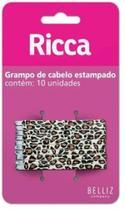 Grampo de Cabelo Ricca Style Onça -