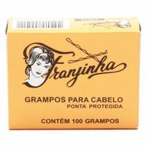 Grampo Franjinha N 7 Preto 100 Unidades -