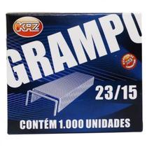 Grampo p/ grampeador galvanizado 23/15 c/ 1000 - aruforte - Kaz