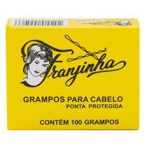 Grampo para Cabelo Castanho Nº 5 com 100 Grampos - Franjinha
