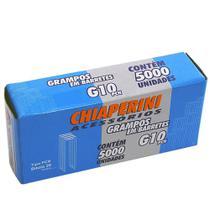 Grampo para grampeador pneumático 10 x 5,1 mm  5.000 peças - G-10PCN - Chiaperini -