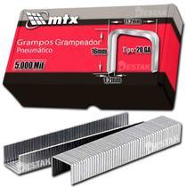 Grampo Para Grampeador Pneumático 16mm 5.000 Unid Mtx -
