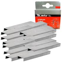 Grampos 106 para Grampeador Tapeceiro 10 MM Caixa com 1.000 Unidades MTX -