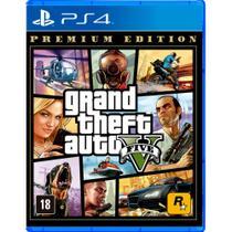 Grand Thef.T Auto V - Premium Online Edition - PS4 - Rockstar