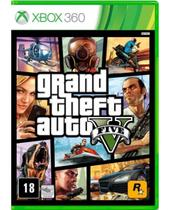 Grand Theft Auto Gta V - Xbox 360 - Rockstar Games