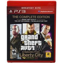 Grand Theft Auto IV  Episodes from Liberty City - Complete Edition - Greatest Hits - PS3 - Konami