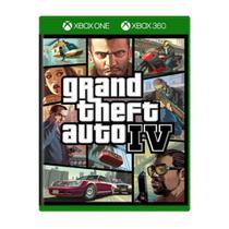 Grand Theft Auto IV GTA 4 - Xbox 360/Xbox One - Rockstar Games
