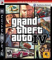 Grand Theft Auto Iv - Ps3 - Rockstar Games