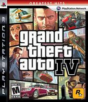 Grand Theft Auto IV - Ps3 - Rockstar games