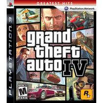 Grand Theft  Auto Iv - Ps3 - Sony