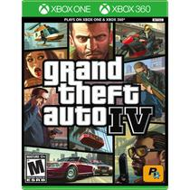 Grand Theft Auto IV - Xbox 360  Xbox One - Rockstar
