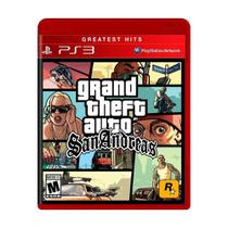 Grand Theft Auto San Andreas - GTA San Andreas - PS3 - Rockstar Games