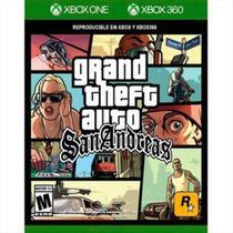 Grand Theft Auto San Andreas GTA  - Xbox 360 / Xbox One - Rockstar Games