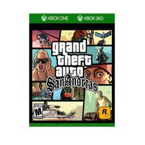 Grand Theft Auto San Andreas GTA - Xbox One / Xbox 360 - Rock Star Games