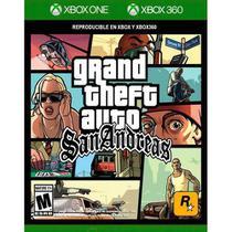 Grand Theft Auto San Andreas - Xbox 360 & Xbox One - Microsoft