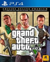 Grand Theft Auto V (5) Premium Online Edition - PS4 - Sony