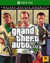 Grand Theft Auto V GTA 5 Premium Online Edition - X1 - Rockstar Games