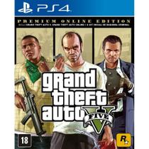 Grand Theft Auto V Premium Online Edition GTA V GTA 5 para PS4 - Rockstar Games
