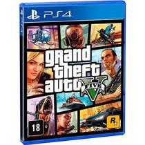 Grand Theft Auto V PS4 Mídia Física Lacrada - Rockstar