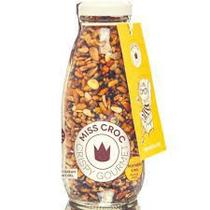 Granola Crispy Mostarda e Mel Sem Glúten Garrafa Miss Croc 120g -