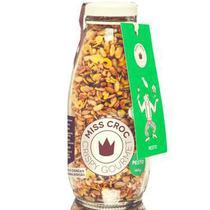 Granola Crispy Pesto Sem Glúten Garrafa Miss Croc 140g -