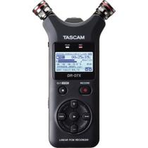 Gravador De Áudio Estéreo Portátil Tascam Dr-07x -