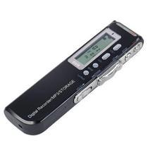 Gravador De Voz Digital 8gb com Escuta Telefonica Mp3 Mt-557 - Tomate