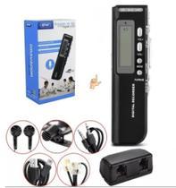 Gravador De Voz Digital 8Gb Memória Espião Pequeno Discreto Escuta - Wlxy -