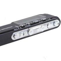 Gravador De Voz Digital E Music Player Grava Até 576 Horas 8 Gb - Verde