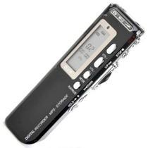 Gravador De Voz Digital Espião com 8Gb Memória - Morgadosp