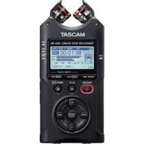 Gravador Digital De Áudio Voz Tascam Dr-40x Quatro Pistas Interface Áudio Usb -