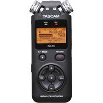 Gravador Digital Portátil Tascam DR-05 com Memória de 2 GB -