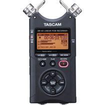 Gravador Digital Tascam DR-40 com MicroSD de 2GB -