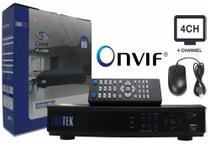 Gravador Digital Vídeo Circuito Int Full Hd 4 Ch Cftv Dvr - Luatek