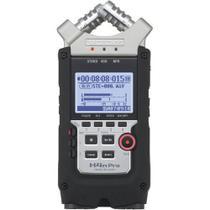 Gravador Digital Zoom H4n Pro de 4 Entradas / 4 Faixas com Sistema de Microfone X/Y -