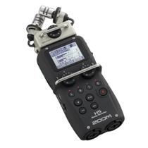 Gravador Digital Zoom H5 Handy Recorder Com Sistema De Microfone Intercambiáveis -