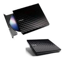 Gravador Dvd Asus Externo Slim Preto 8x Sdrw08d2su -