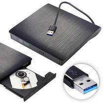 Gravador Leitor Drive De Cd/dvd Externo Portátil Usb 3.0 - knup
