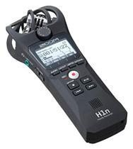 Gravador Portátil Zoom H1n com Microfone Integrado X/Y -