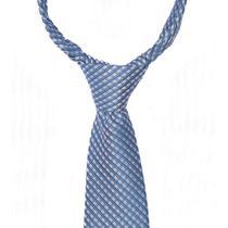 Gravata azul clara com traços rosas e brancos - Gravatas Grongo